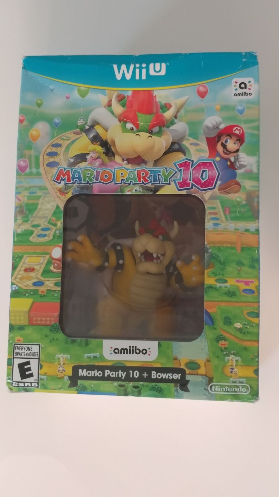 New Unopened Box Mario Party 10 With Bowser Amiibo For