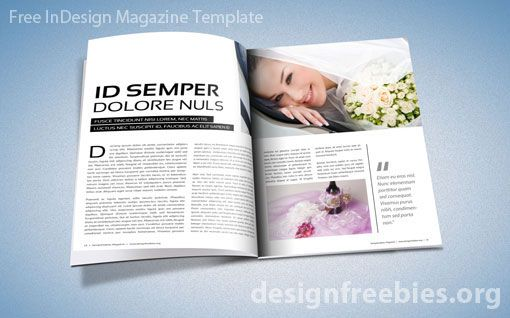 Indesign Magazine Template  CityEsporaCo
