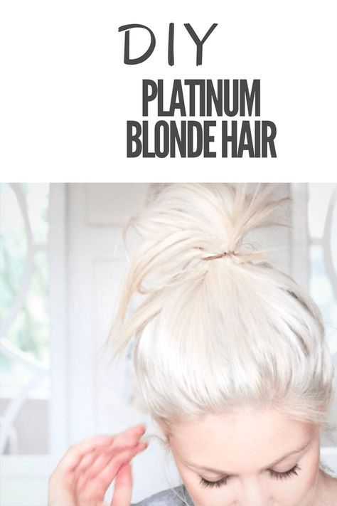 Platinum blonde hair a diy guide a helpful diy guide to getting that platinum blonde hair colour youve always wanted solutioingenieria Image collections