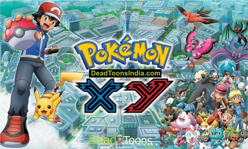 Pokemon (Season 17) The Series XY Hindi Dubbed Episodes