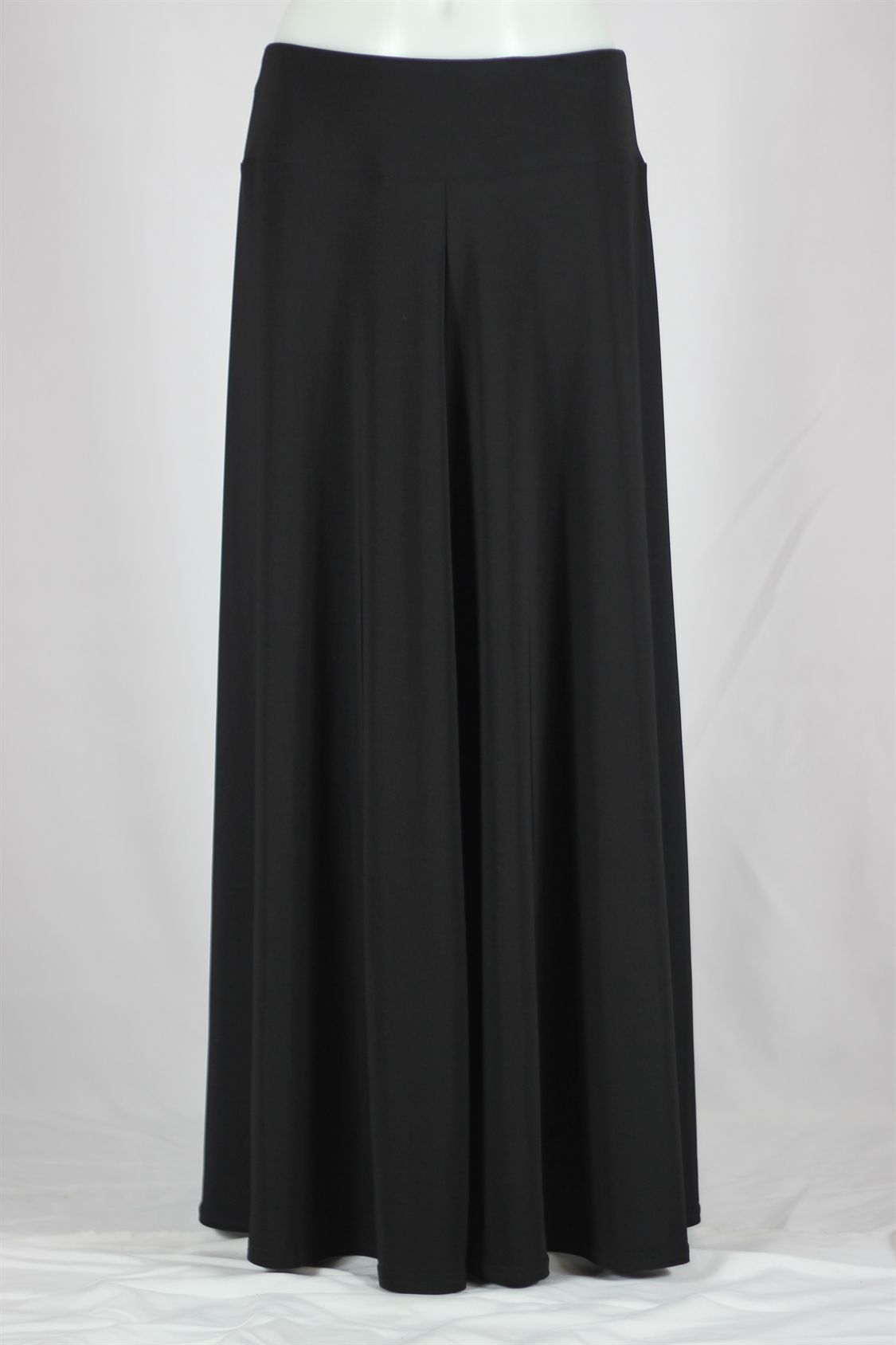Gilat Ruffled Black Long Skirt, Sizes 6-16: theskirtoutlet.com ...