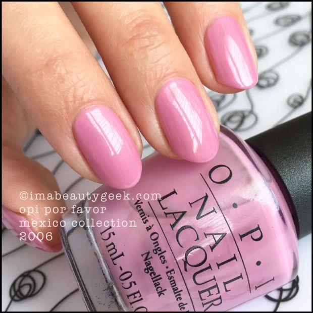 OPI POR FAVOR 2006 #NOTD | OPI, Nail nail and Swatch