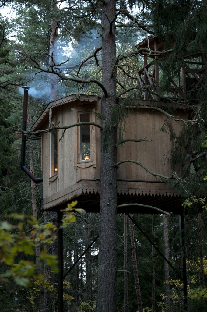 Our Huts And Treehouses Inspiring Outdoor Spaces Hermitage