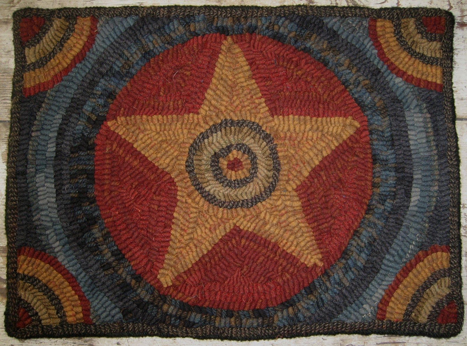 primitive junky: americana rug | hooked rugs | pinterest | primitives