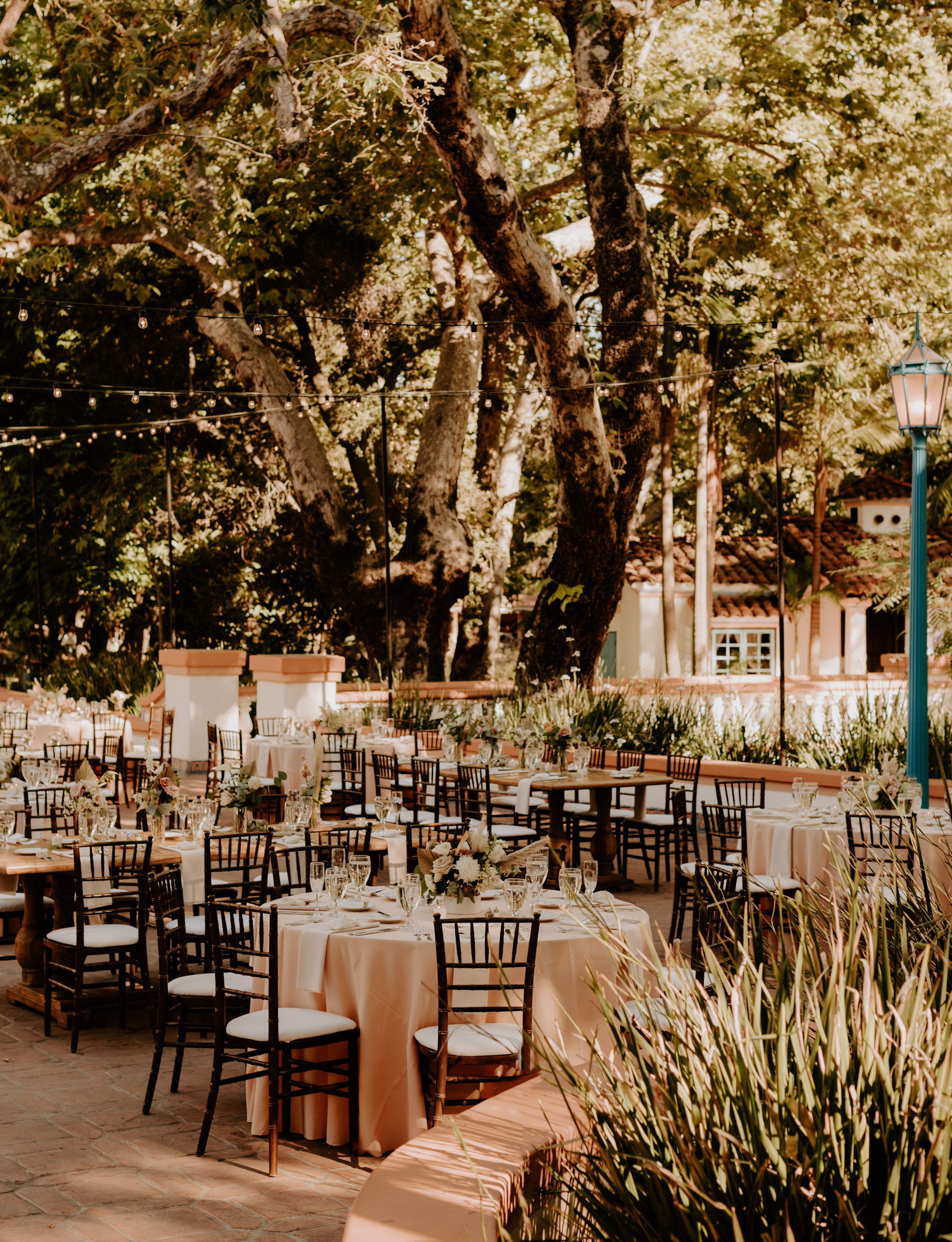 Rancho las lomas wedding reception- Southern california ...