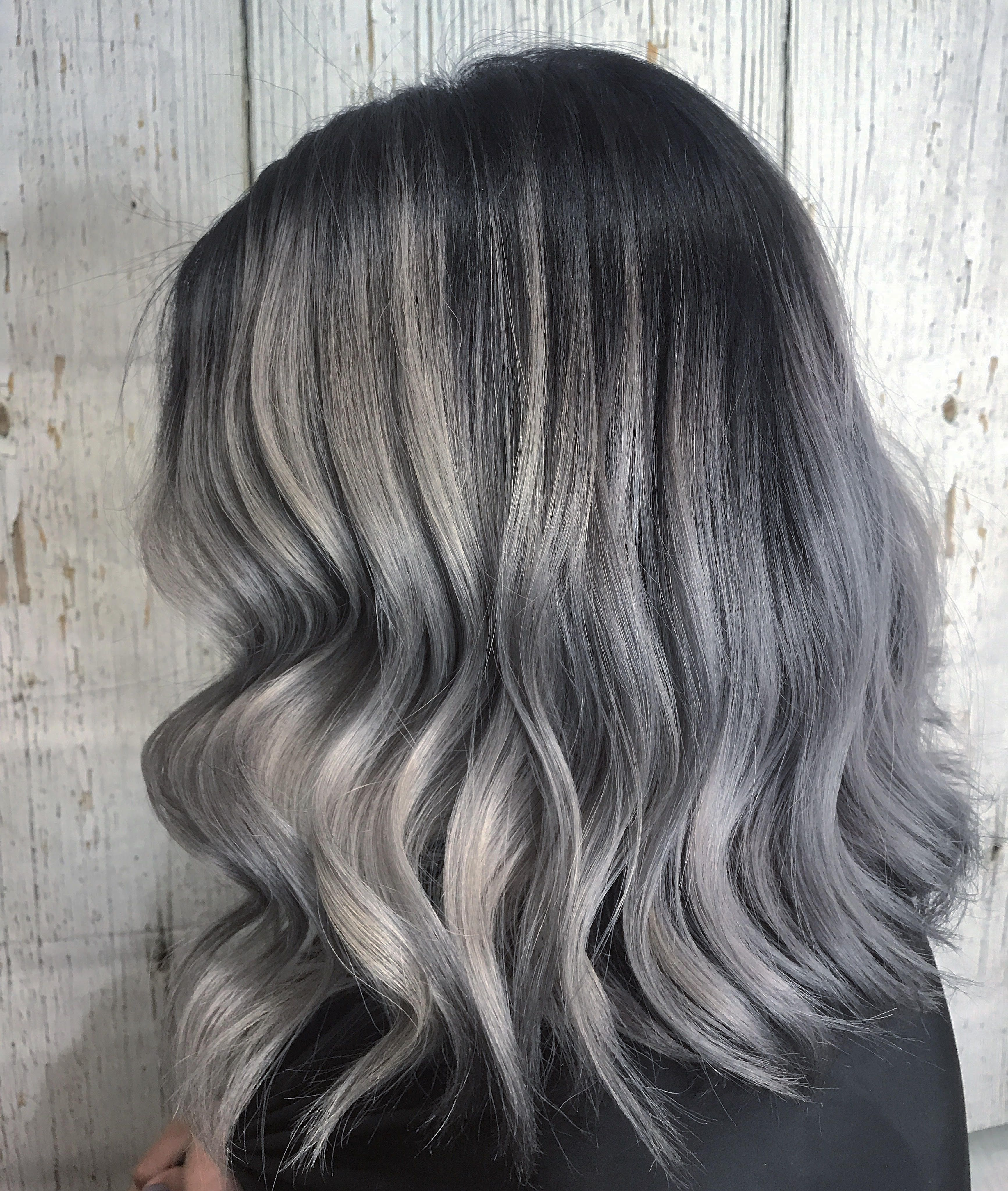 How Long Does Grey Silver Toned Hair Last Tone Hair Silver White Hair Curly Hair White Girl