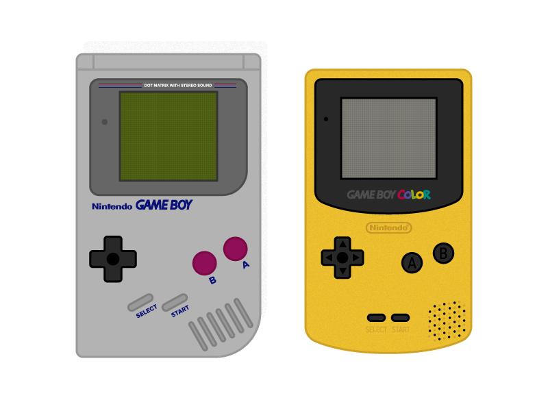 Gameboy Vs Gameboy Color Gameboy Color Gaming Products