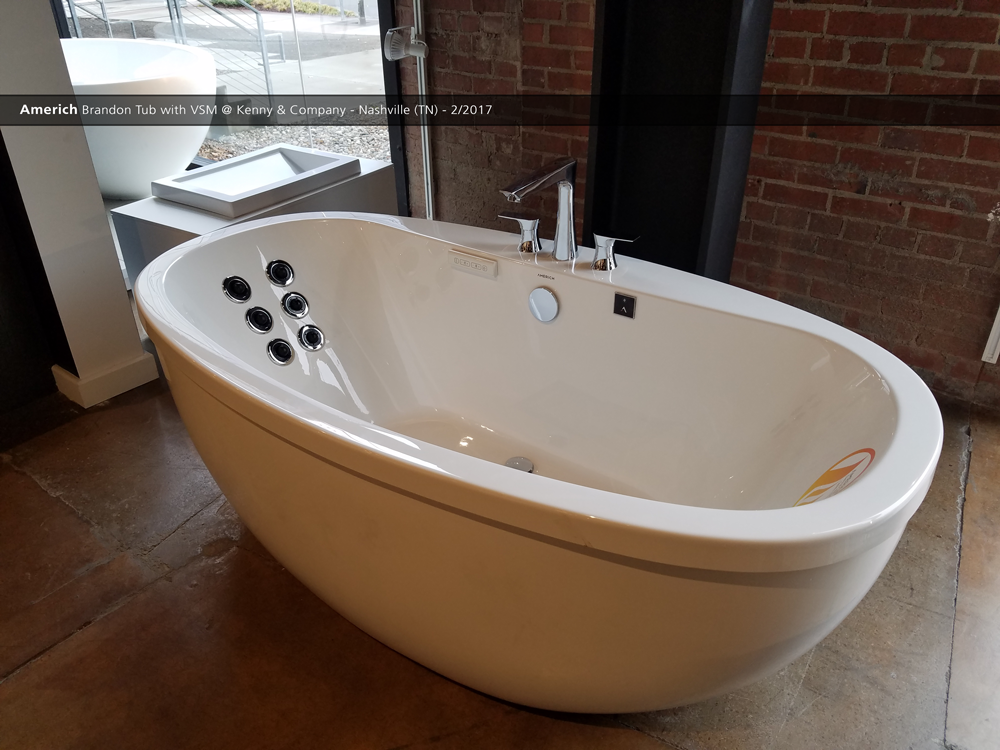 americh brandon tub with vsm @ kenny & company - nashville (tn) - 2