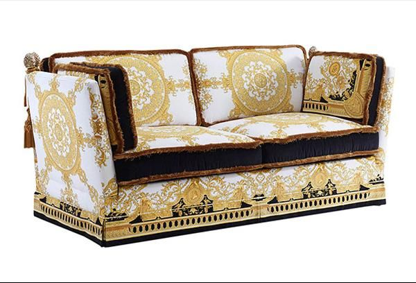 Orleans versace home collection a son 39 s promise to his Versace sofa