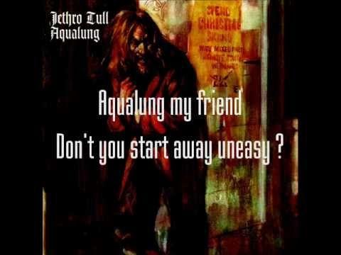 Jethro Tull - Aqualung (lyrics) - YouTube