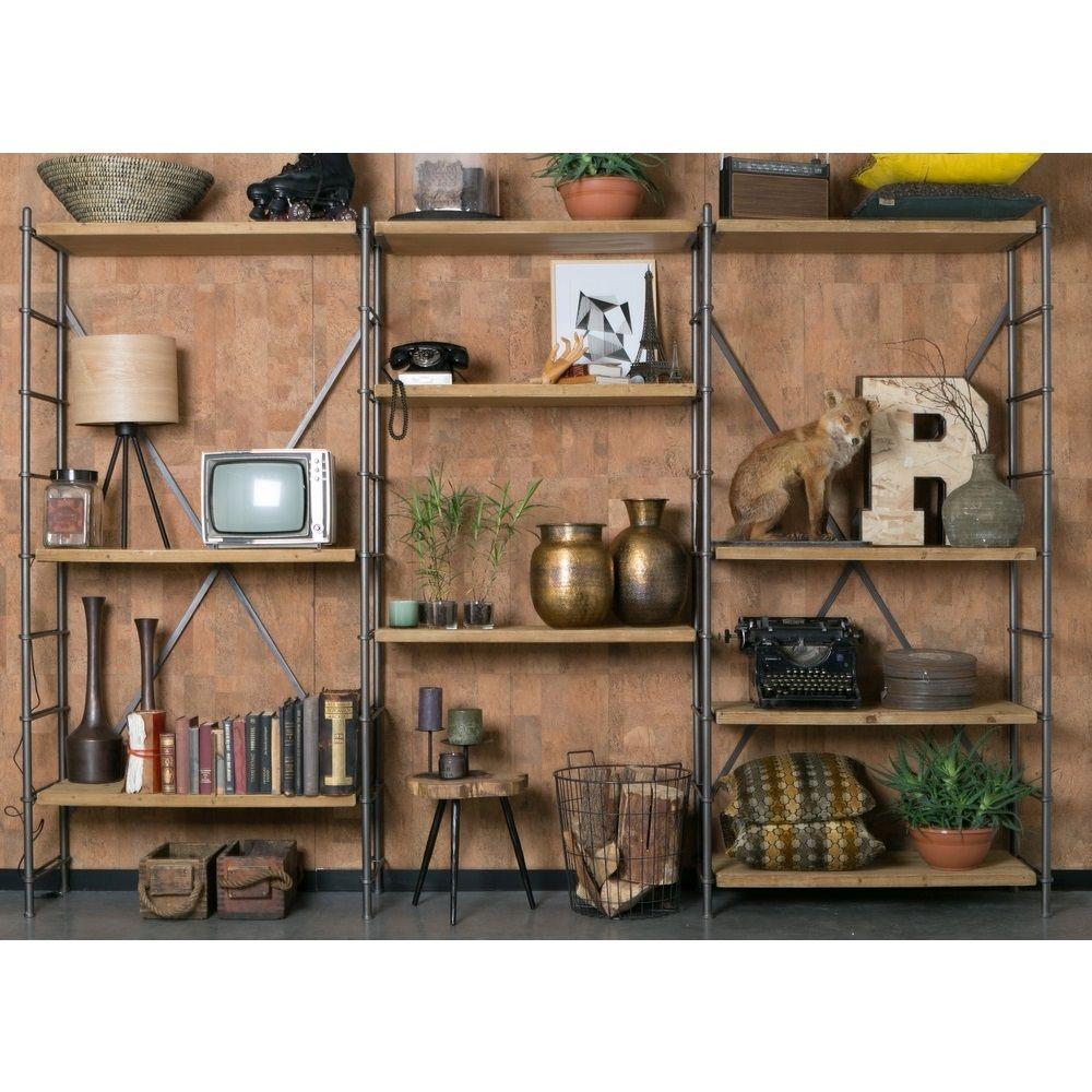 Dutchbone Iron Shelf Kast Home Inspiration Wandkasten