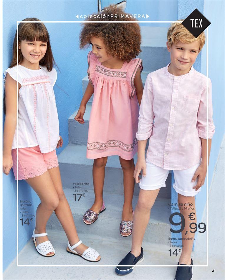 Catalogo De Ofertas De Carrefour Moda Para Ninas Moda Ninos