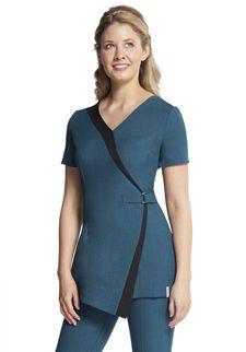 Florence roby beauty uniforms beauty tunics salon wear for Spa uniform nz