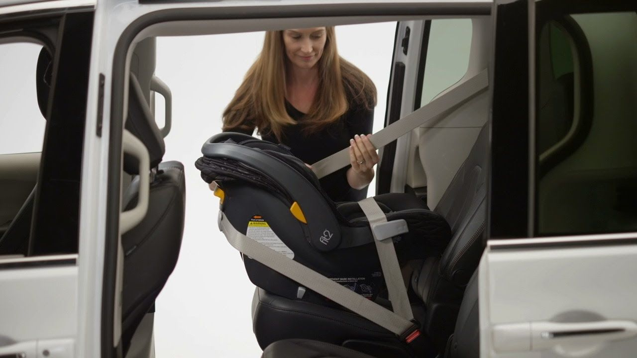Installing Without A Base Chicco Fit2 Car Seat Car Seats Baby Car Seats Seating