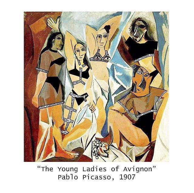 Art Vol 2 The Galarreta Young Ladies Of Avignon Rubengalarreta Galarreta Art Galarretaart Avignon Picasso Galarretagirl Fa Art Artwork Sketches