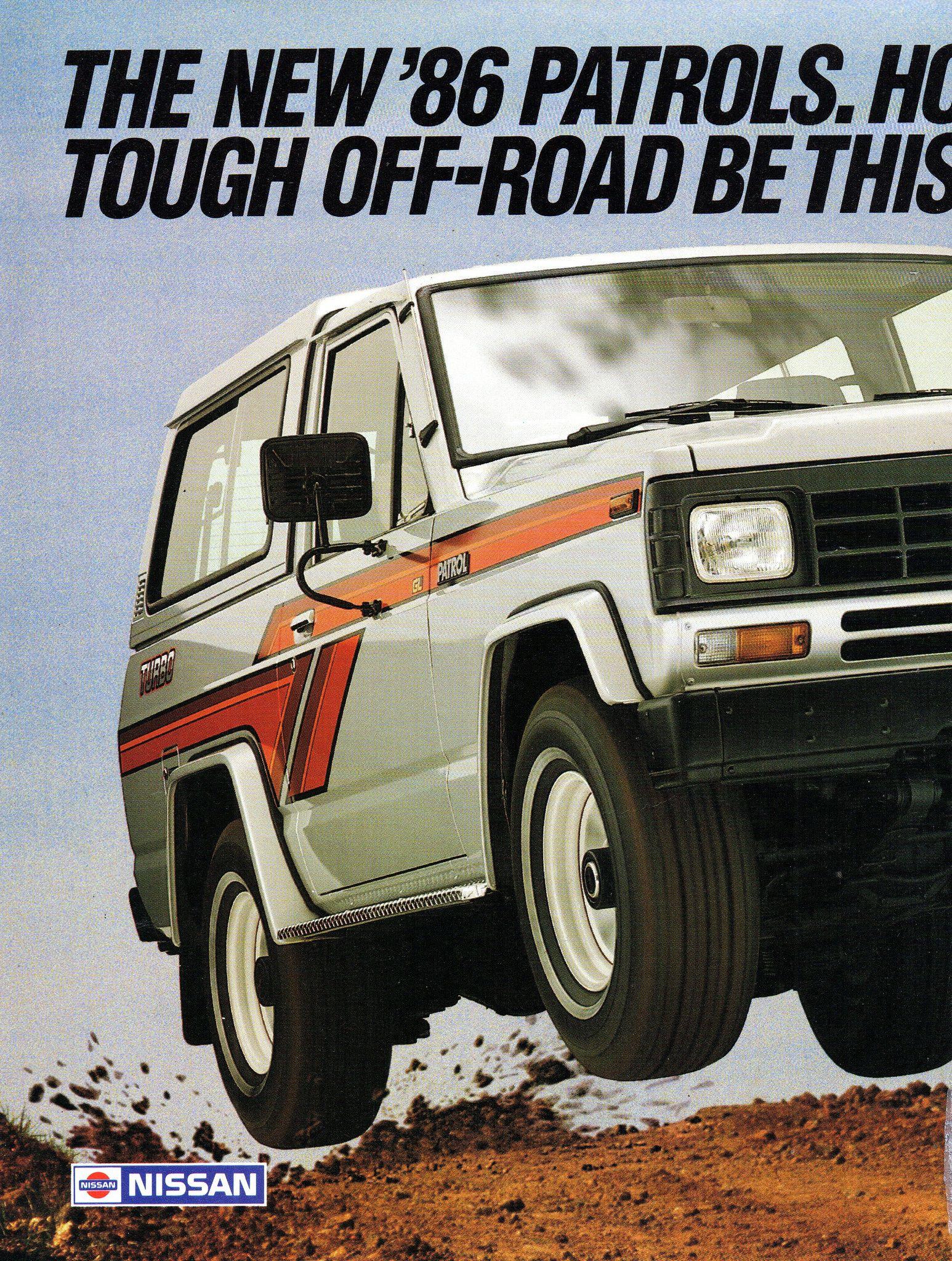 https://flic.kr/p/24mwhp9 | 1986 Nissan Patrol Turbo