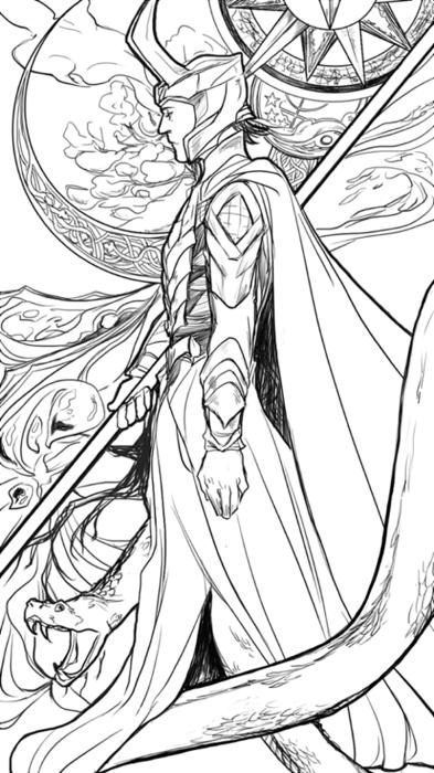 Loki Mclarinet Marvel Desenhos Desenhos De Super Herois