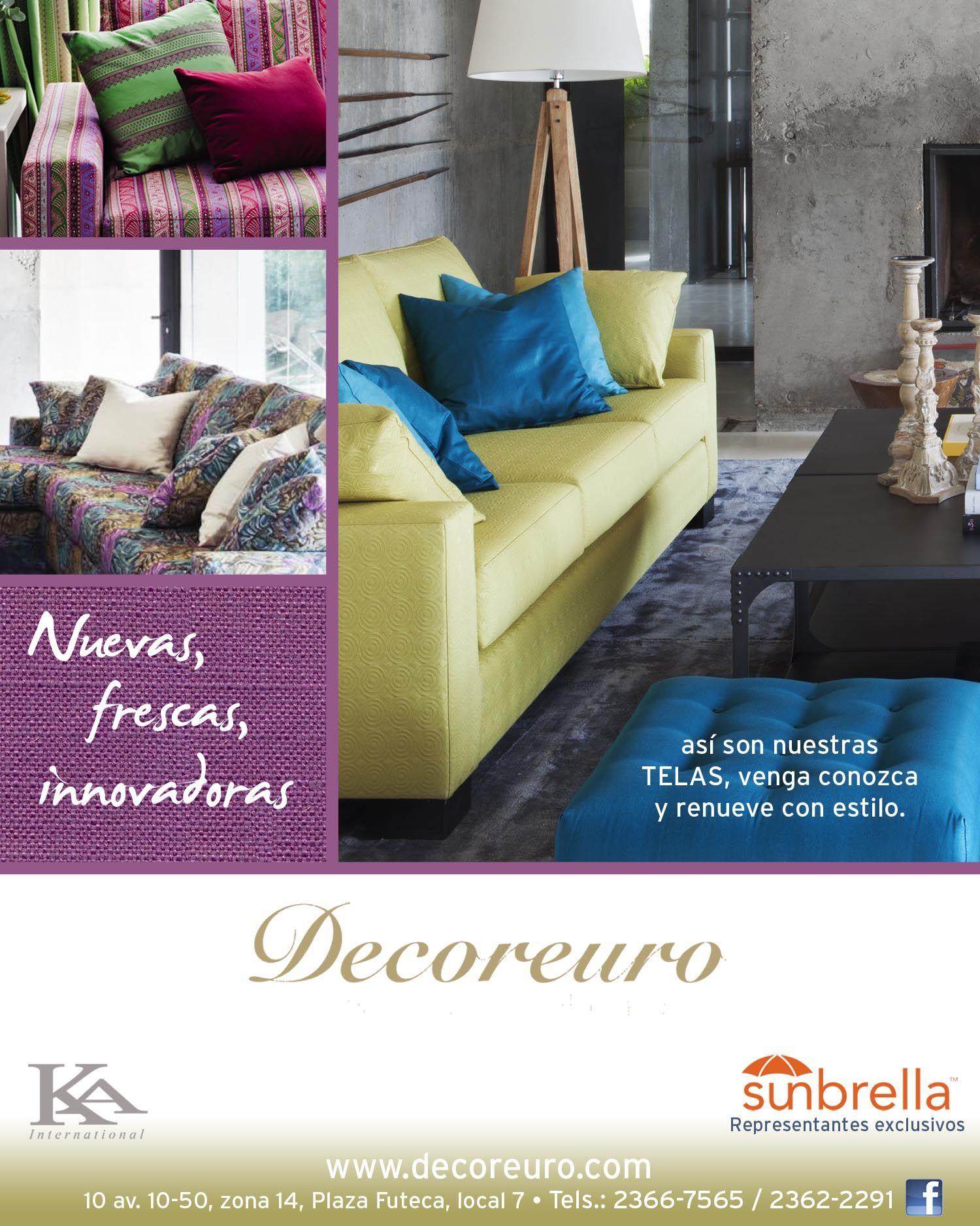 Decoreuro una empresa de guatemala con las marcas ka - Ka internacional cortinas ...