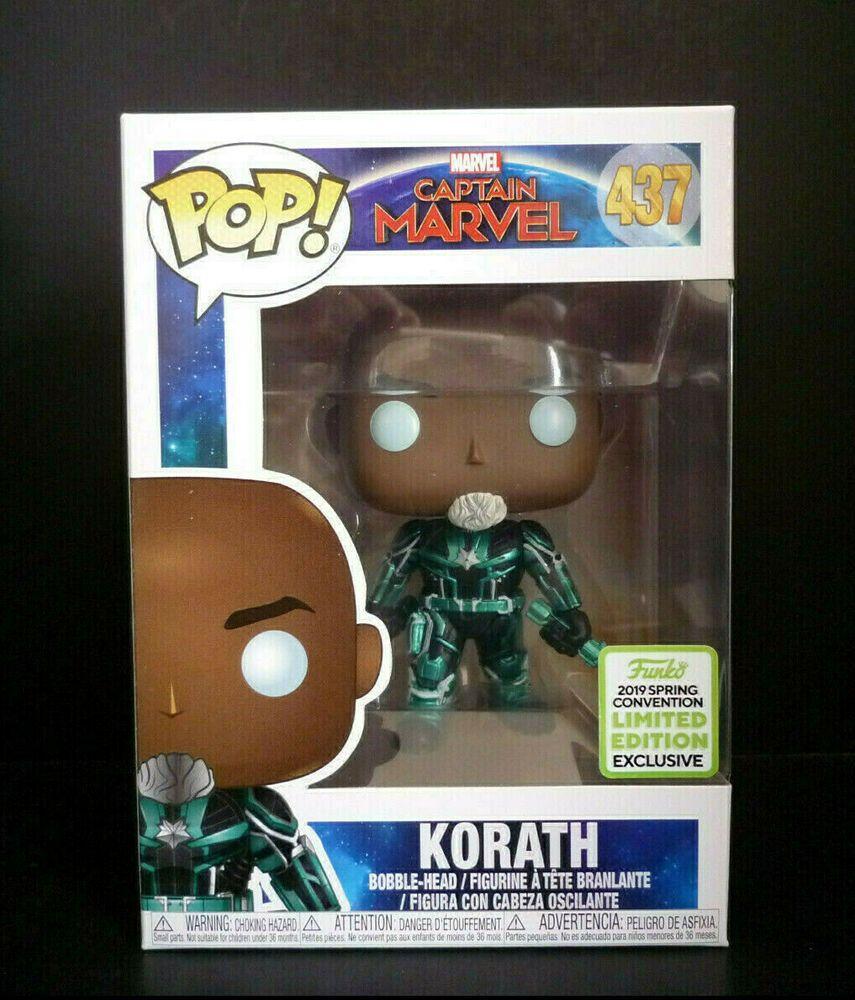 Captain Marvel Korath Funko POP Vinyl Figure eccc 2019 Exclusive