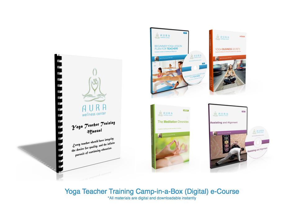 Yoga Teacher Training Camp In A Box Level 1 Digital Yoga