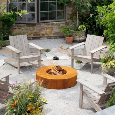 Low Profile Round Fire Pit