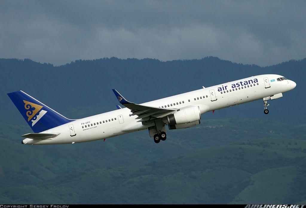 Air Astana P4-GAS Boeing 757-2G5 aircraft picture