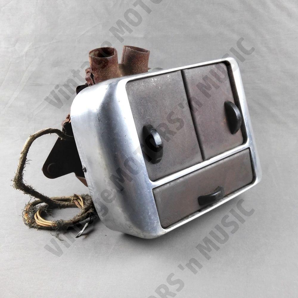 1941 1942 1946 1947 1948 Ford Car Heater 3 Door Underdash Hot Water 1955 F100