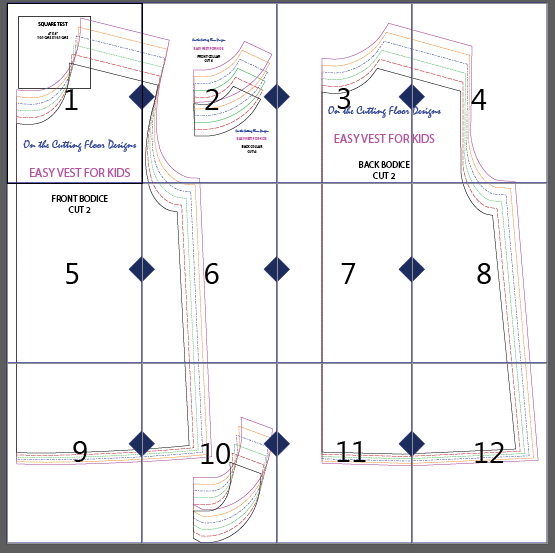 Simple Vest Pattern | Pinterest | Vest pattern, Sewing patterns and ...