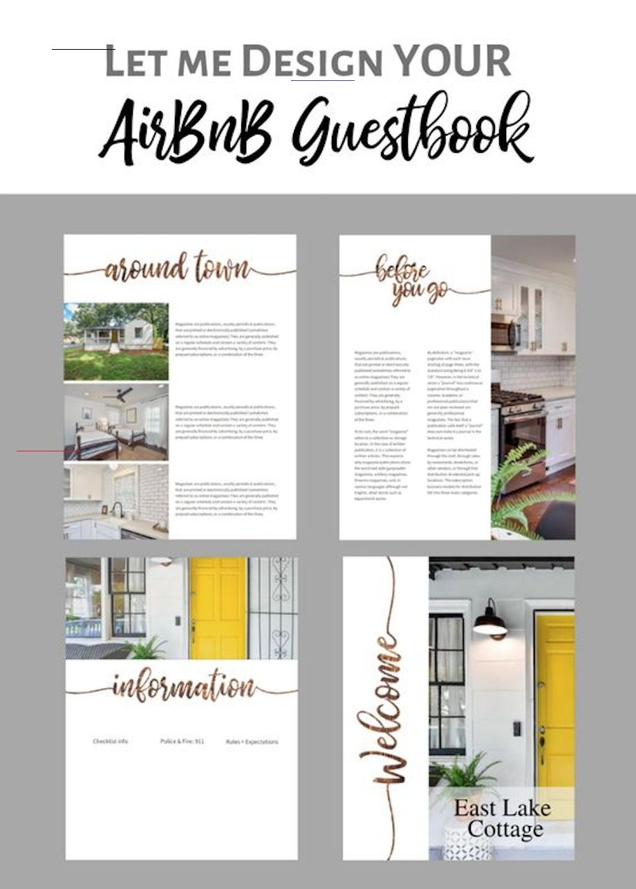 AirBnB Guestbook Manual vacationlooks in 2020 Aruba