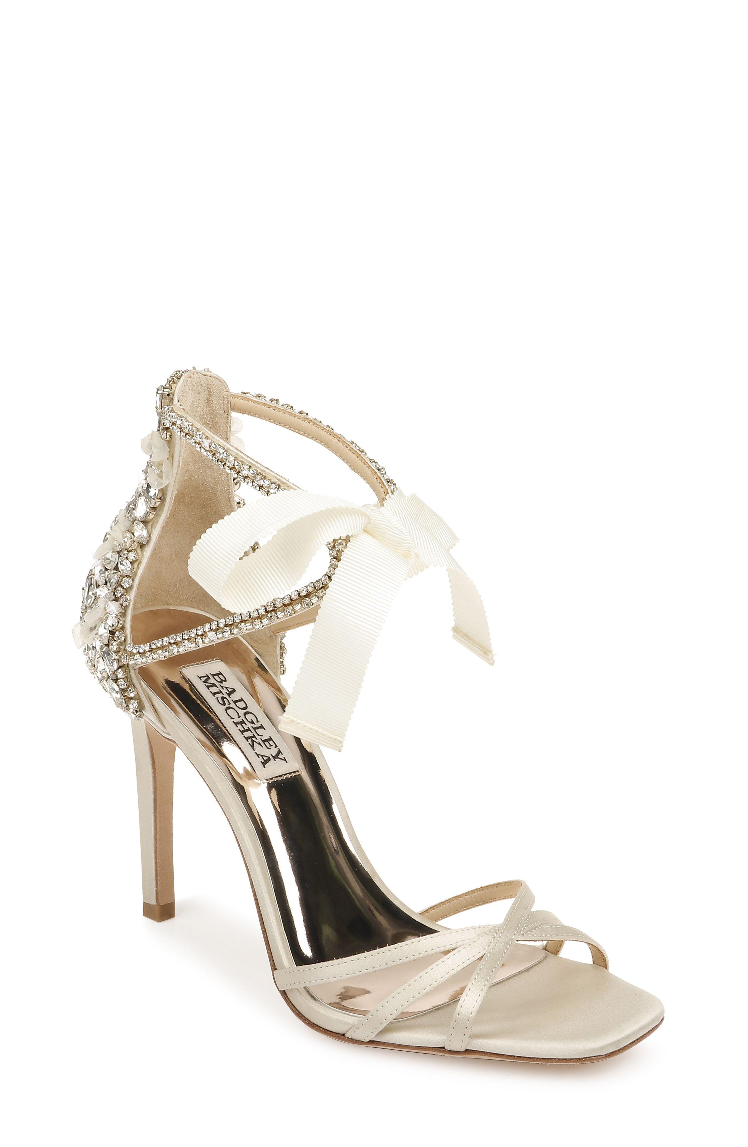Joanie Crystal Embellished Evening Shoe