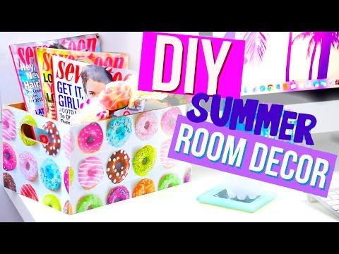 DIY Summer Room Decor With HelloMaphie   YouTube