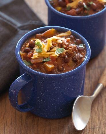 homemade chili sounds delish