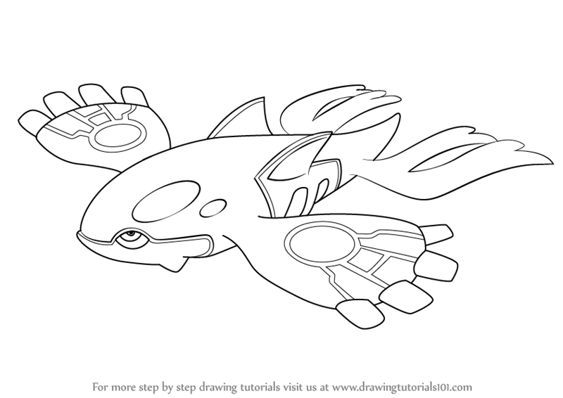 Kyogre is one of the character of pokemon serial and it is