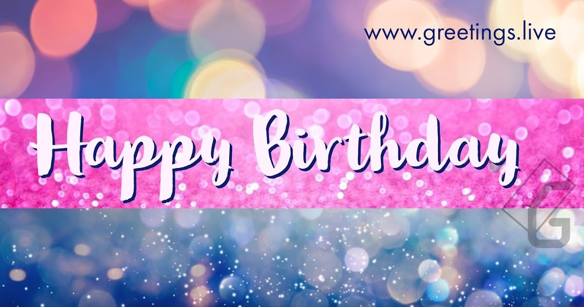Latest Sparkling Happy Birthday Wishes 2018 HD Image With Name