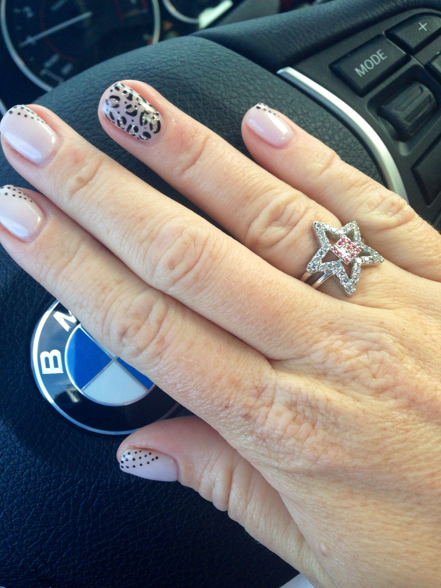 Cheetah and sparkle gel nail design | Nails | Pinterest | Sparkle ...