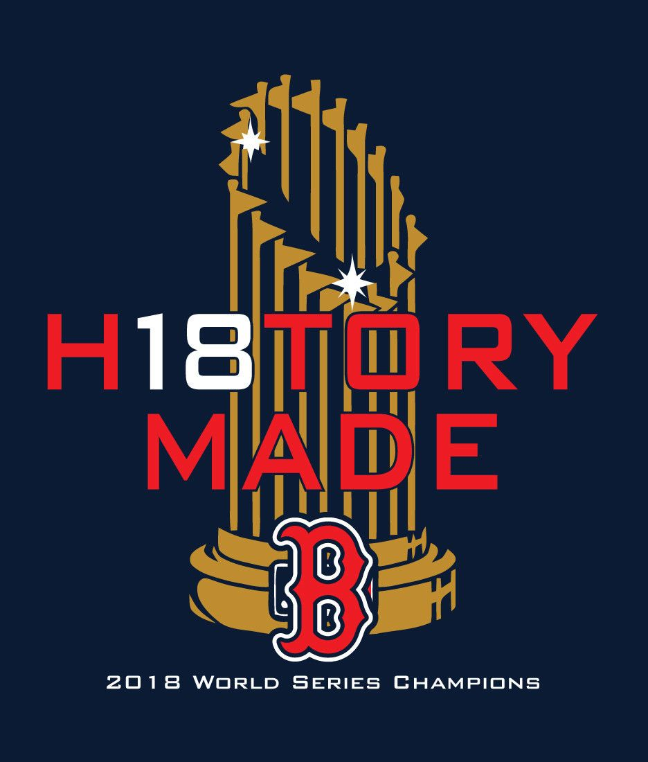 best service ede82 8c4c8 HISTORY MADE Boston Red Sox 2018 WORLD SERIES CHAMPIONS ...