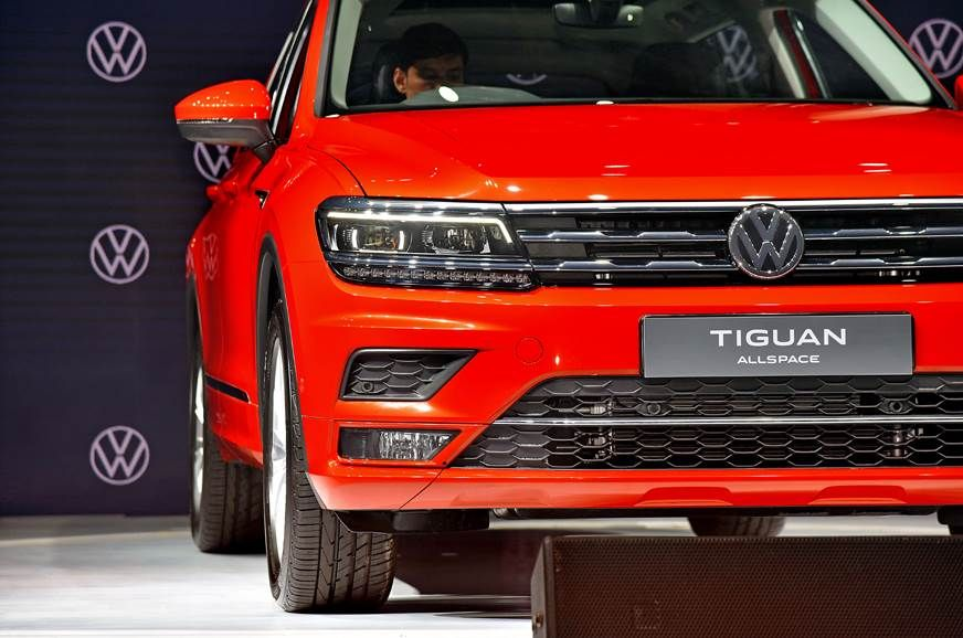 Volkswagen Tiguan Allspace Launched In India In 2020 Volkswagen