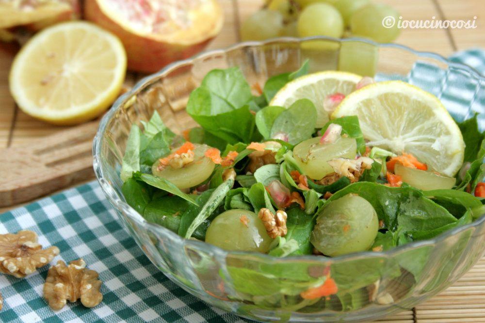 Buffet Di Insalate Miste : Ricetta insalata mista di verdura e frutta buffet contorni