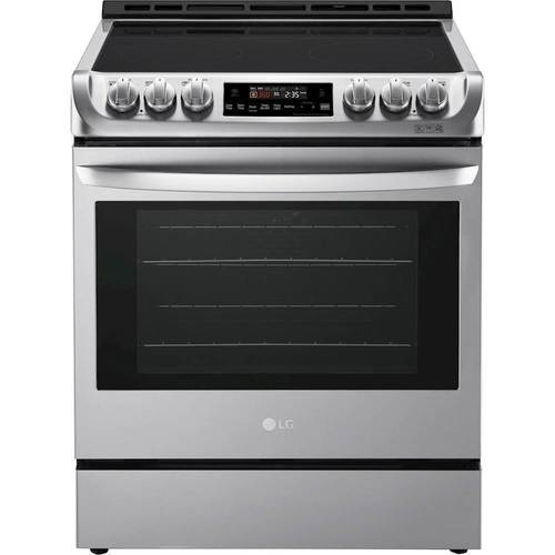 Lg 6 3 Cu Ft Slide In Electric Range With Probake Convection