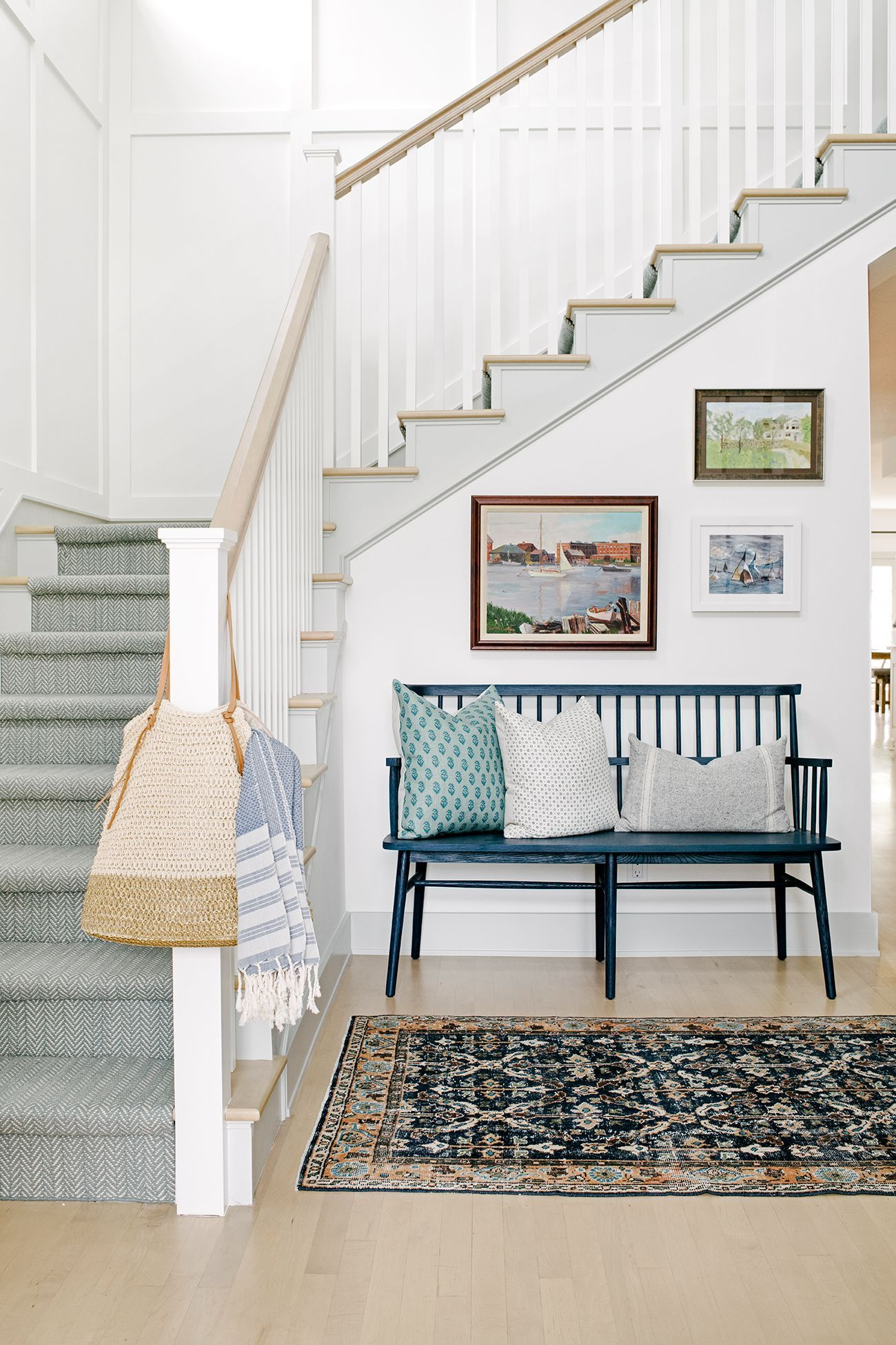 """Home Decor Ideas Decorating your stairwell """"adds big ..."""
