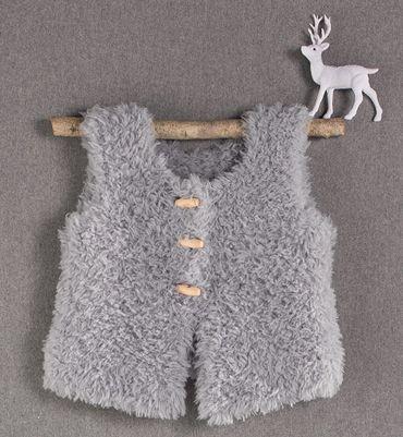 modele tricot gratuit gilet sans manche bebe