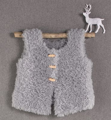 tricoter gilet sans manches bebe