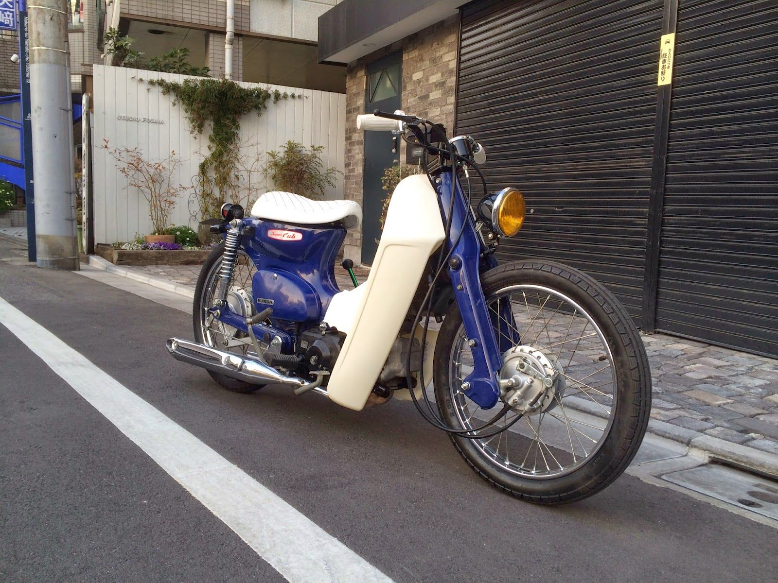 CUSTOM SUPER CUB FROM JAPAN 03 - CRAZE GENUINE CUSTOM   cubs of the ...