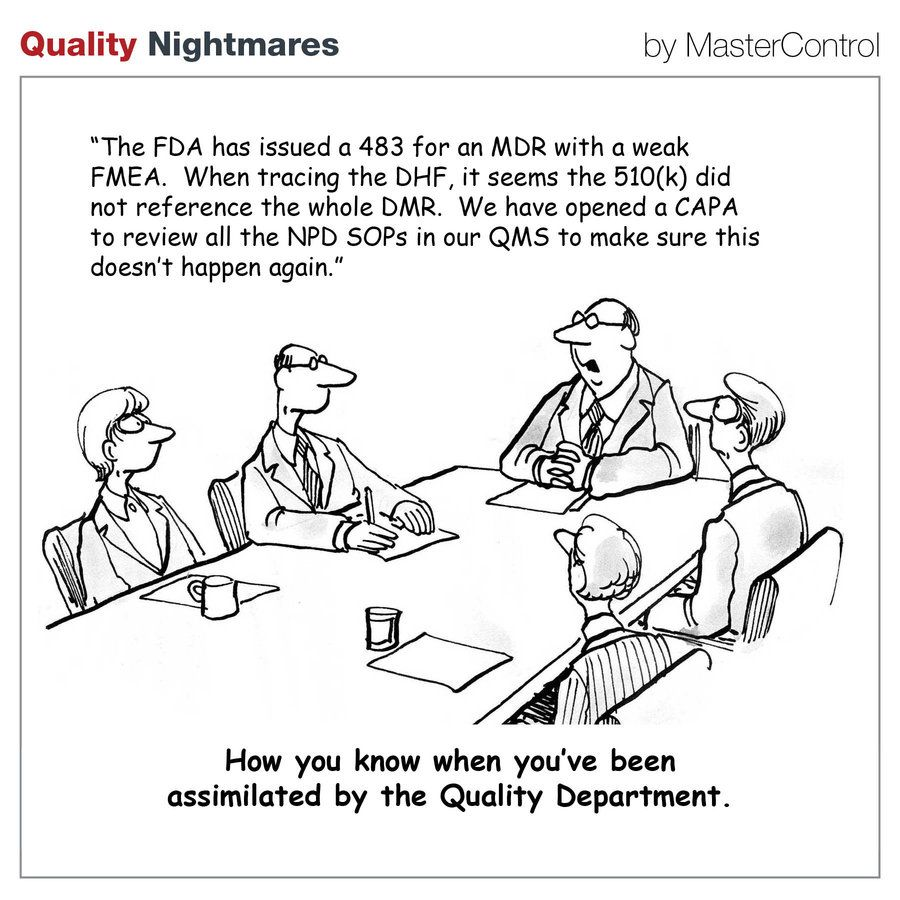 Quality Of Work Quotes: How You Know You've Been Assimilated By The Quality
