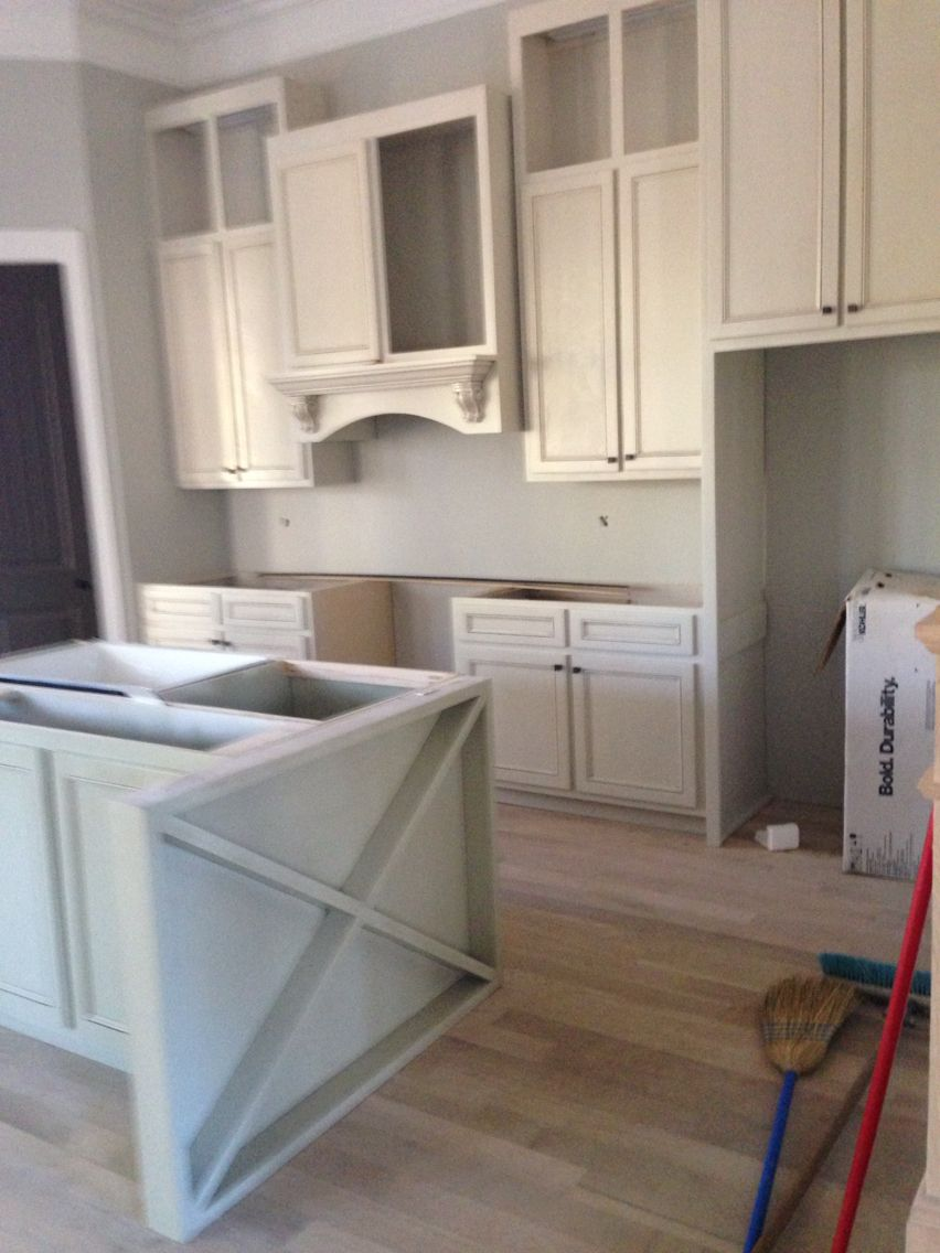 Best Kitchen Cabinets Coming Together Off White With Brown 400 x 300