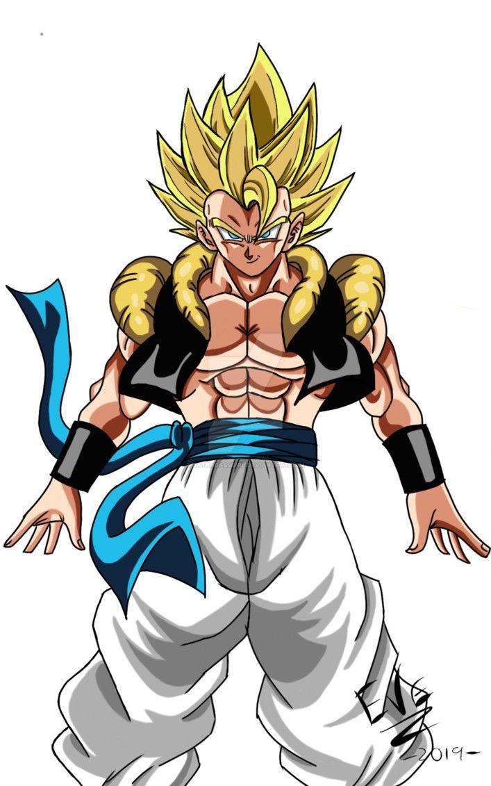 Gogeta Super Saiyajin Dragon Ball Z Dragon Ball Art Dragon Ball Super