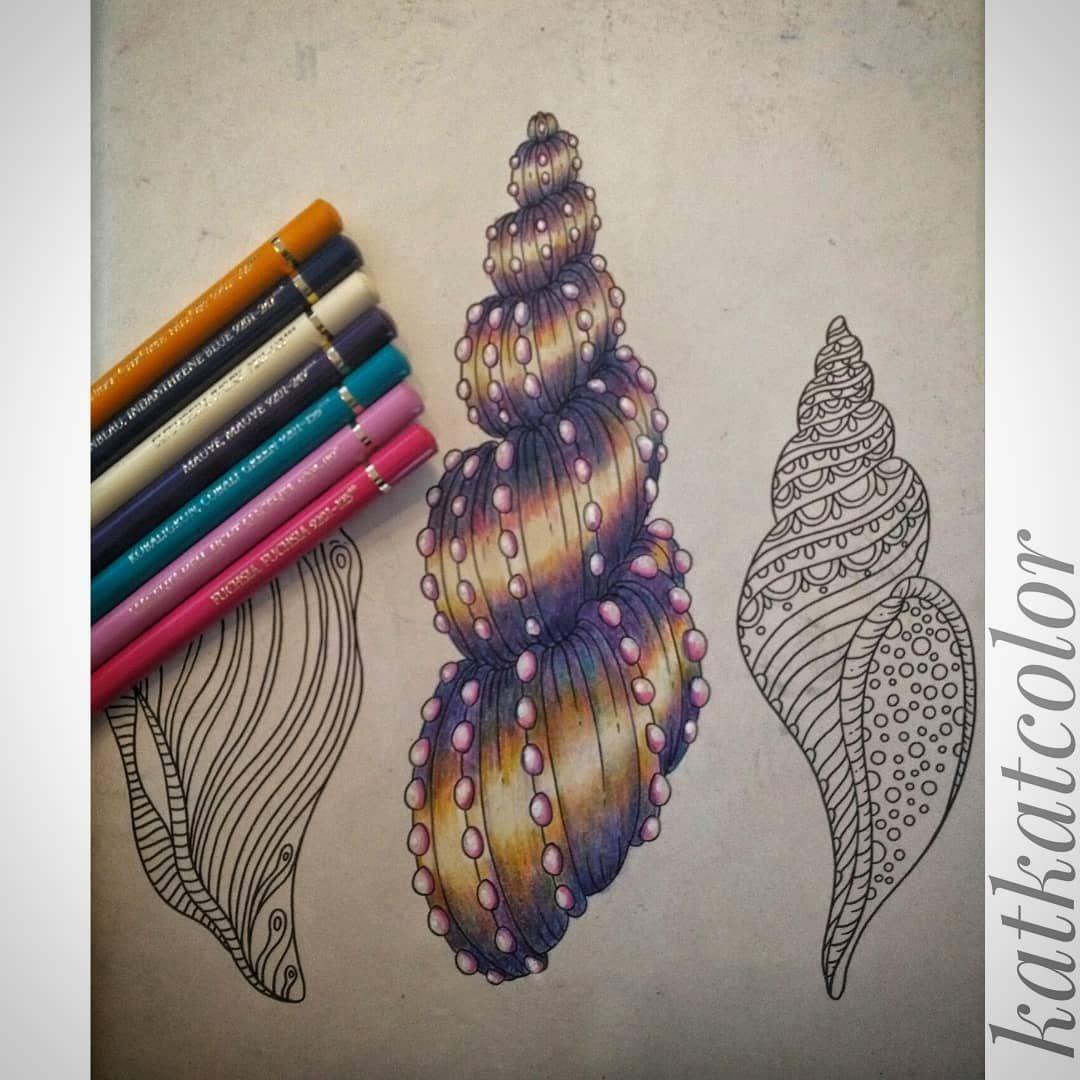 Katrin V On Instagram Hannakarlzon Hannakarlzonmagicaldawn Magicaldawn Coloringbook Adultcoloring Adultcolo Bunte Zeichnungen Polychromos Zeichnungen
