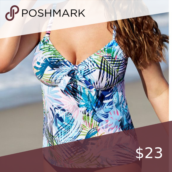 Underwire F G Cup Tankini Top Swimsuits For All In 2020 Swimsuits For All Underwire Tankini Tops Tankini