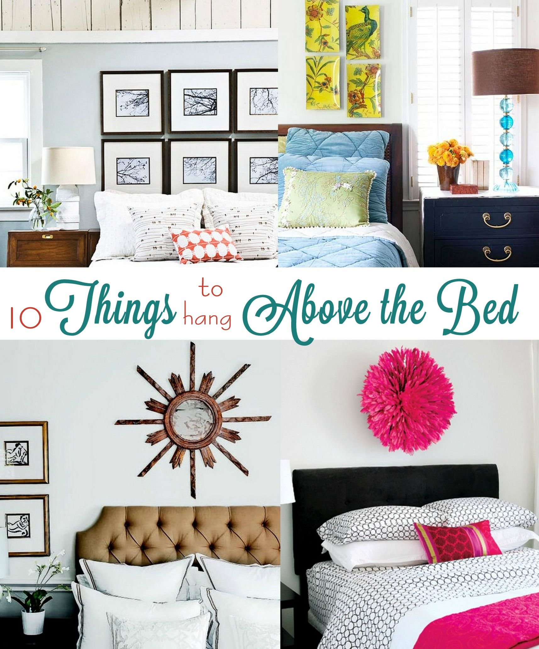 Things To Hang On Walls ten things to hang above the bedironically, the blogger's