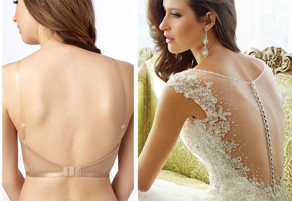 Le Mystere Dos Nos Backless Bra Sophia Tolli 2017 Bridal Wedding Dress On Briefs